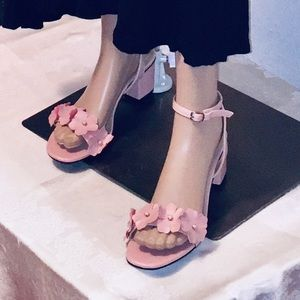Pink pumps for women size 9